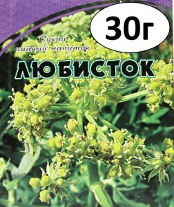Растение любисток от алкоголизма без ведома больного
