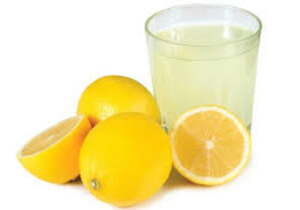 вода с лимоном при похмелье
