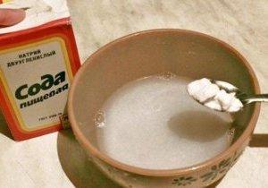 сода от похмелья рецепт