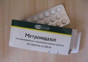 метронидазол и алкоголь через сколько можно пить