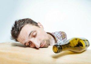 портрет алкоголика