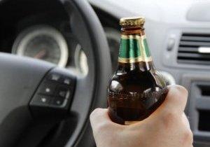 штраф за пьяную езду