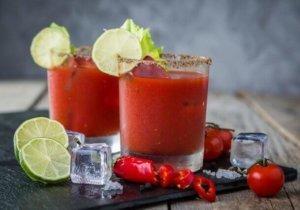 томатный сок с яйцом от похмелья