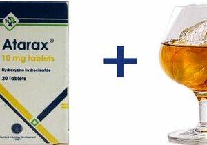можно ли пить атаракс с алкоголем