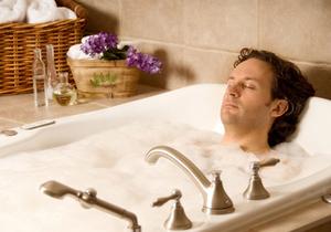горячая ванна при похмелье