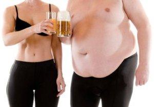 набирают ли вес от алкоголя
