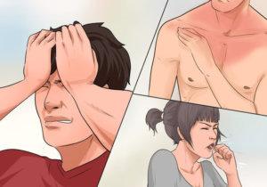 аллергия на вино признаки